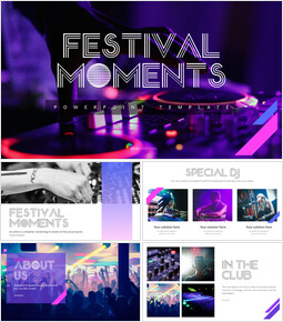Festival Moments PowerPoint Templates for Presentation_00