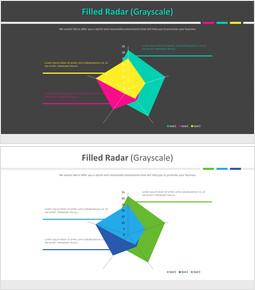 Filled Radar (Grayscale)_4 slides