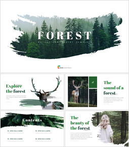 Forest PowerPoint Templates Multipurpose Design_00