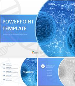 유전 연구 - 무료 디자인 템플릿_00