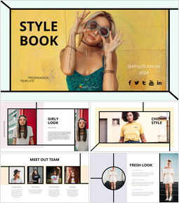 Girls Street Style Google Slides Themes for Presentations_46 slides