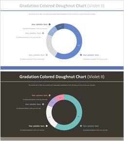그라데이션 컬러 도넛 형 차트 (바이올렛 II)_00