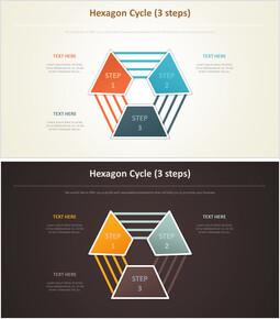 육각형 사이클 다이어그램 (3 단계)_00