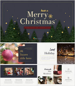 Merry Christmas PowerPoint Templates for Presentation_00