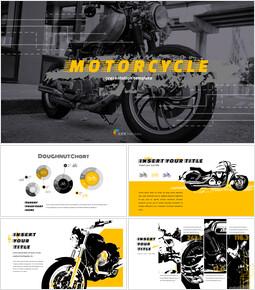오토바이 프레젠테이션을 위한 구글슬라이드 템플릿_00