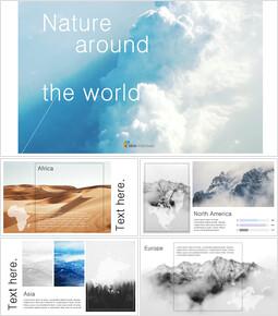 세계의 자연 구글슬라이드 템플릿_00