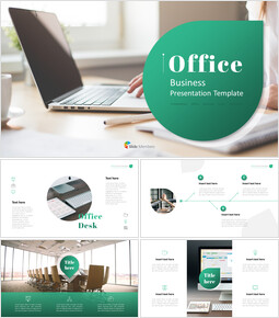사무실 사업 프레젠테이션용 PowerPoint 템플릿_00