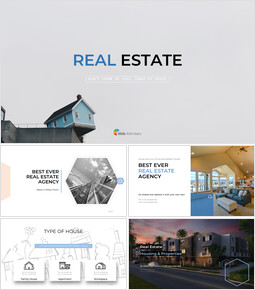 Real Estate PowerPoint Templates for Presentation_00