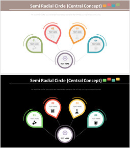 Semi Radial Circle Diagram (Central Concept)_00