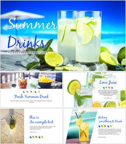 여름 음료 파워포인트 템플릿_00
