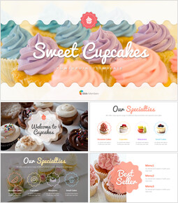Sweet Cupcakes PowerPoint Templates Design_00