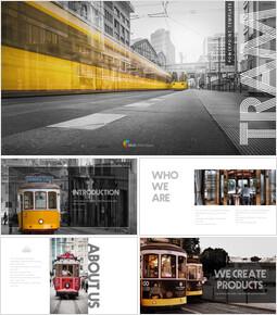 TRAM PowerPoint Templates Multipurpose Design_00