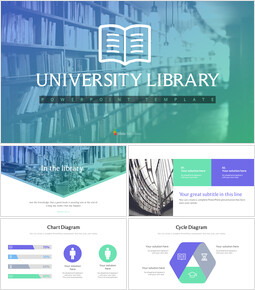 University library PPT Templates_00