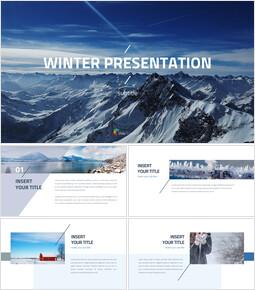 Winter Theme PPT Templates_00