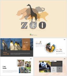 동물원 프레젠테이션을 위한 구글슬라이드 템플릿_00