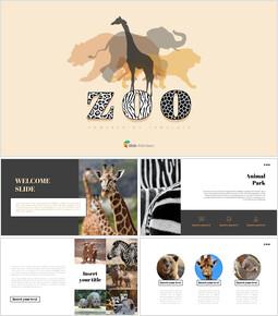 동물원 프레젠테이션용 PowerPoint 템플릿_00