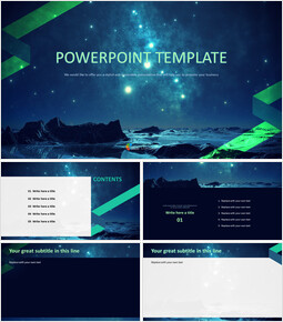 A Starry Sky - Free Images for Presentations_00