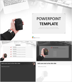Camera Lens - Free Powerpoint Templates Design_00