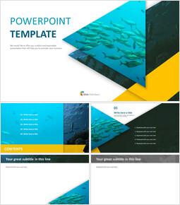 Deep-sea Fish - Free PPT Template_6 slides