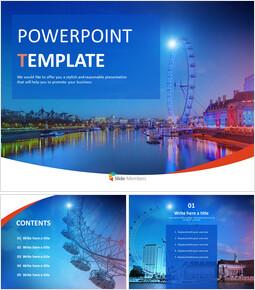 Ferris Wheel - Free Powerpoint Sample_00