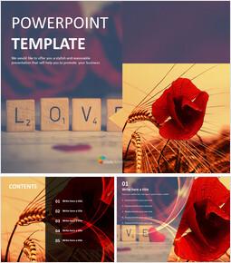 Flower Language of Rose - PPT Free_00