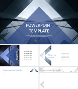 Free Design Template - Industrial Business_6 slides