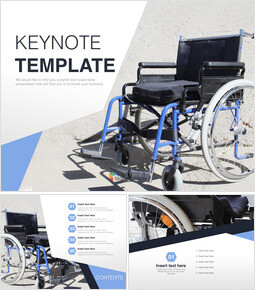 Free Images for Keynote - Wheel Chair_00