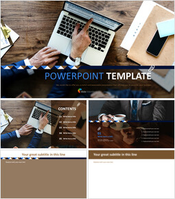 Free Images for PowerPoint - Taking Over a Job_6 slides