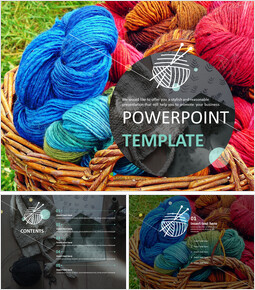 Free Images for Presentations - How to Knit_6 slides