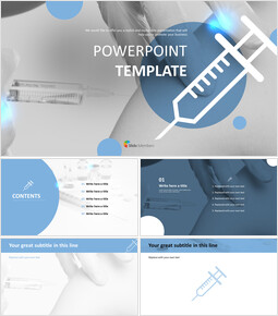 Free PowerPoint - Syringe_6 slides