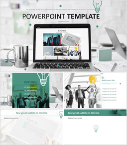 Free PowerPoint Template Design - Business_6 slides