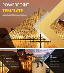 Free PPT - The Louvre Museum_00