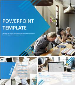 Free PPT Design - Morning Business Meeting_6 slides