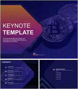 Free Presentation Template - Virtual Currency_00
