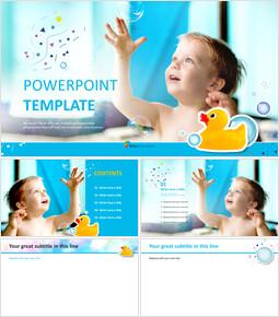 Kids - PowerPoint Templates Free Download_6 slides