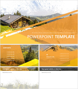 Log Cabin - PPT Download Free_00