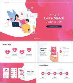 Applicazione Love Match Google fa scorrere i temi per le presentazioni_00