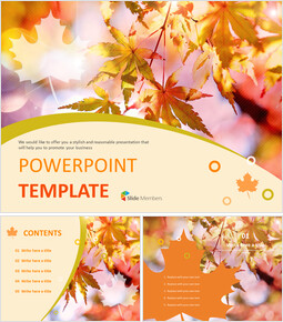 Maple Tree - Free Business PowerPoint Templates_6 slides