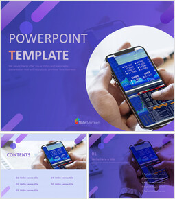 Mobile Stock Chart - PowerPoint Presentation Download Free_00