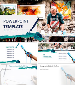 Painter - Free Images for PowerPoint_00