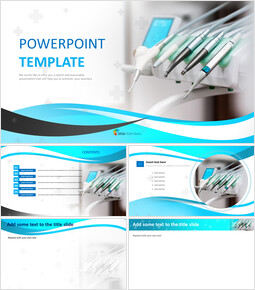 PPT Templates Free Download - Dental Medical Tools_00