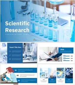 과학적 연구 심플한 Google 프레젠테이션_00