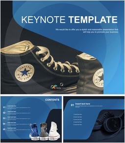 Various Colors Sneakers - Free Keynote_00
