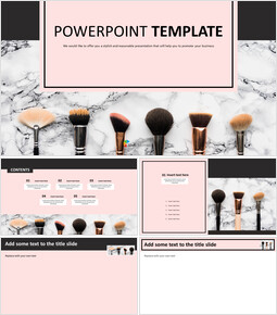 Various Makeup Brushes - PPT Download Free_00