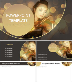 Violin Playing - PowerPoint Download Free_00