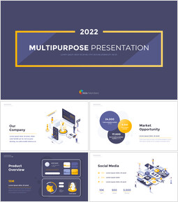 2021 Multipurpose Template Design Business plan PPT Download_00