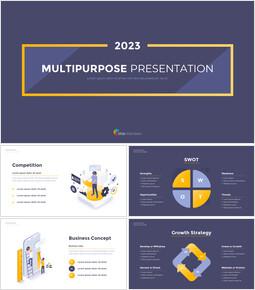 2020 다목적 템플릿 디자인 심플한 Google 슬라이드 템플릿_00