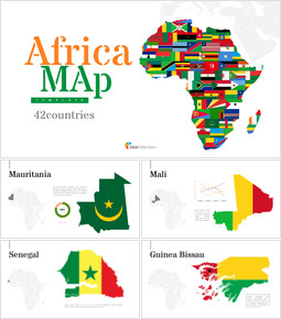 Africa Map (42countries) Google Slides Presentation_00