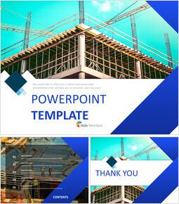 건물 건설 현장 - 구글 슬라이드 템플릿 무료 다운로드_00