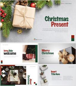 크리스마스 선물 키노트 템플릿_00